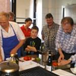 Der Kochkurs - Erst die Arbeit, dann das Vergnügen