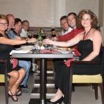 Abendessen, das Buffet hat jeden kulinarischen Anspruch übertroffen
