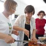 Griechisches Osternfest 12.04.2015 in der MRG - Tanzkultur Vicky Legaki Gaby, Veronika, Vicky